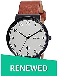 (Renewed) Skagen Ancher Analog Silver Dial Mens Watch - SKW6297#CR