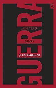 Guerra par Janne Teller