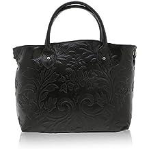 Chicca Borse - Handbag Borsa a Mano da Donna Realizzata in Vera Pelle Made  in Italy 2cb501a9b4e