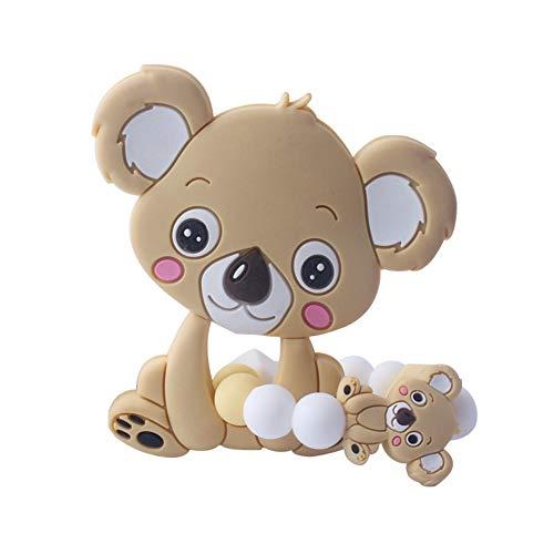 Onetek Baby Neugeborenen Kinderkrankheiten Spielzeug BPA Frei Weiche Silikon Cartoon Tierform Beißringe Spielzeug