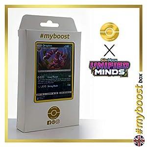 Drapion 134/236 Holo Reverse - #myboost X Sun & Moon 11 Unified Minds - Box de 10 cartas Pokémon Inglesas