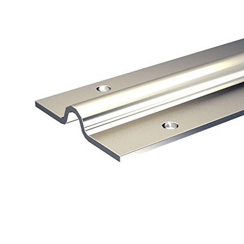 Laufschiene, 200 cm aus verzinktem Stahl, für bodenläufige Schiebetore bis 400 kg, zum Anschrauben, für SLID\'UP 1600 Schiebetorbeschlag