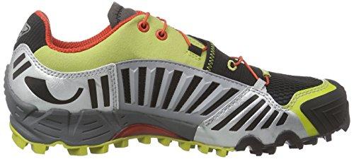 Dynafit Ms Feline Sl, Chaussures de Trail homme Multicolore - Mehrfarbig (Firebrick/Silver 1625)