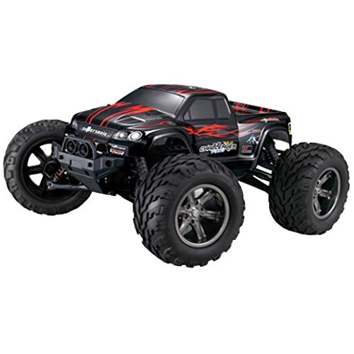 AmaMary 9115 RC Auto Buggy wasserdichter Monstertruck 1:12 mit 2,4 GHz über 40 km/h schnell, wendig, voll proportional 2WD ferngesteuertes Buggy Racing Auto (rot)