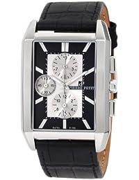 Pierre Petit Herren-Armbanduhr Paris Chronograph Leder P-780A