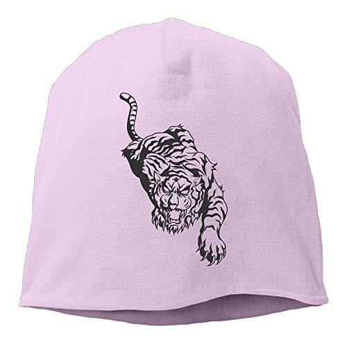 Unisex King of Beasts of The Tiger Musician Unisex Stretch Beanie Skull Cap Knit Hat for Men Women Black Winter ()