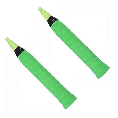 Set von 4Tennisschläger Squash-Schläger,Griffband,Anti-Rutsch, Grün
