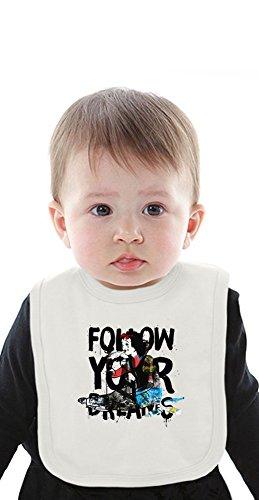Follow your Idols Organic Bib With Ties Medium