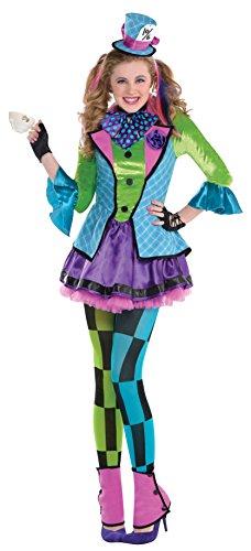 amscan 845581 Kostüm Die freche Hutmacherin 5-teilig Gr. 146
