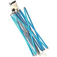 Baoblaze Enrollador de Hilo de Paraguas Azul Accesorios de Costura Manualidad Decoración