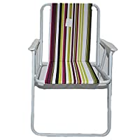 Foldable camping and trips chair with armrest Al005/D-multi color