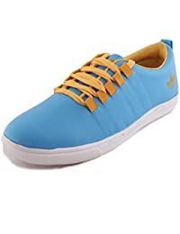 Fucasso Men's Synthetic Blue Casual Shoes