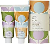 Orla Kiely Two Hand Balms Set - 2 x 100ml Sage Lavender and Orange Caraway