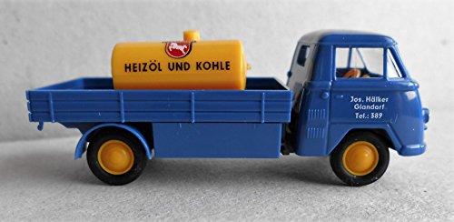 "Preisvergleich Produktbild Tempo Matador Brennstoff-Transporter ""Westfalen Heizöl und Kohle"", Modell in 1:87/H0, Epoche 10311"
