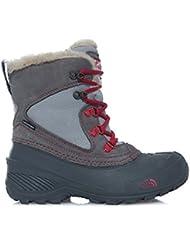 THE NORTH FACE Unisex-Kinder Y Shellista Extreme Sneakers,  Mehrfarbig (Dkgllgy/Cerispk Nhg), 37 EU