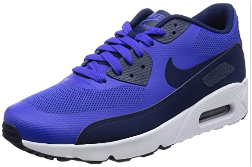 Nike Herren Air Max 90 Ultra 2.0 Essential Sneakers Mehrfarbig (Paramount Blue/binary Blue-white)