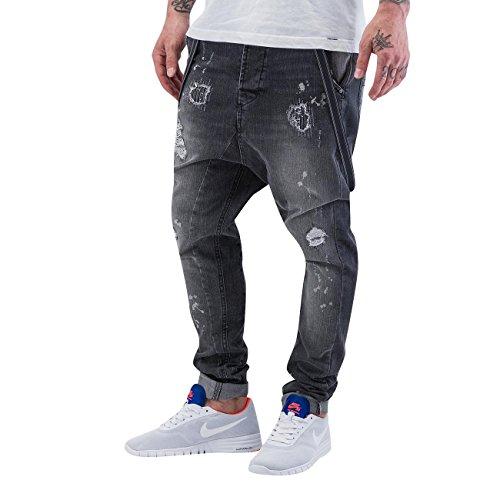 VSCT Clubwear Homme Jeans / Antifit Brad Slim Supenders Gris