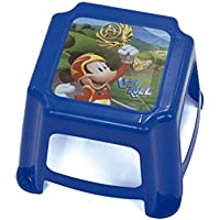 Preisvergleich für Arditex Tritthocker für Kinder Rutschfest unter Lizenz Mickey Mouse Maße: 27x 27x 21cm, Kunststoff, 27x 21x 27cm