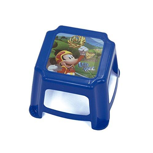 Arditex Sgabello per Bambini Antiscivolo sotto Licenza Topolino Dimensioni: 27x 27x 21cm, Plastica, 27x 21x 27cm