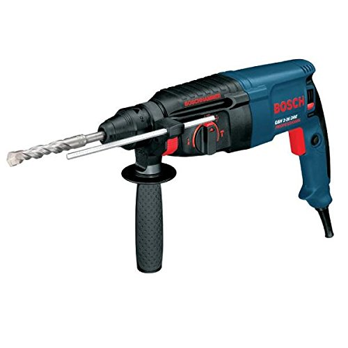 Drill Bosch Rotary Sds-max Hammer (Bosch GBH 2 – 26 DRE Professional 800 W 900rpm SDS Plus Rotary Hammer – Bohrhammer (Black, Blue, 2.8 kg, 83 mm, 377 mm, 210 mm))