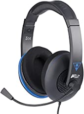 Turtle Beach Ear Force P12 Amplified Stereo Gaming Headset - [PlayStation 4, PS Vita, PC]