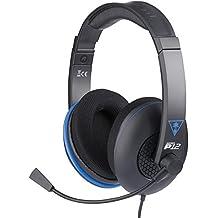 Turtle Beach - Auriculares Ear Force P12 Amplificados (PS4, PS Vita)