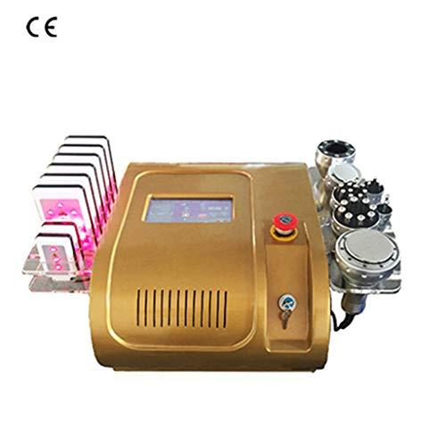 Laser Macchina Dimagrante di Vuoto RF per La Cura Della Pelle Salone di Bellezza Spa Attrezzature 40 k Ultrasuoni liposuzione Cavitazione 8 Pastiglie