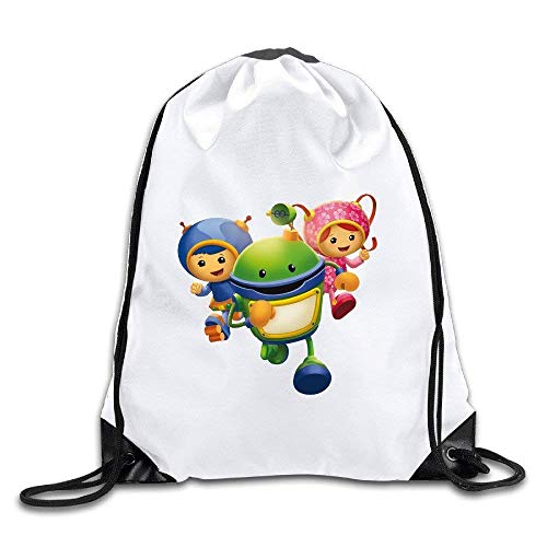 DHNKW Coreco Team Umizoomi Drawstring Backpack Sack Bag