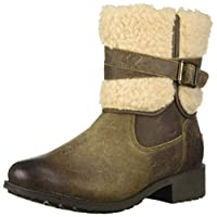 UGG - Blayre Boots - Dove - Waterproof Leather Boots (6 UK)