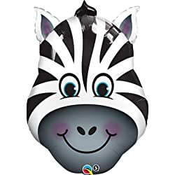 Zany Zebra Mini Shape