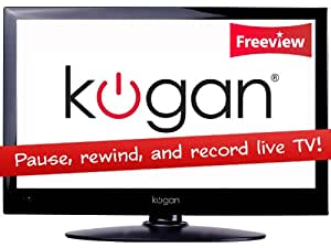 Kogan 24 Full HD LED TV USB PVR Digital Freeview Pause Rewind Record 12v / 240v