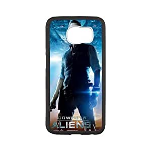 Aliens Samsung Galaxy S6 Cell Phone Case White WL780203