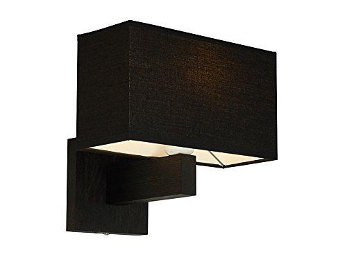 Lampe murale – Design wero Vitoria-016 B – 24 variantes, Applique murale, Applique, lampe, bois massif, chêne, bois de chêne noir