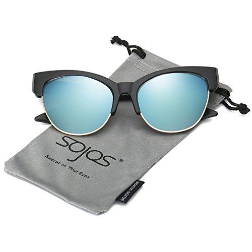 sojos-schick-classico-retro-specchio-cateye-occhiali-da-sole-donna-sj2026-con-nero-telaio-blu-lente