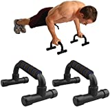 Komodo 1 Pair of Foam Handle Push Ups - Press Up Bar Stand - Home Exercise Workout