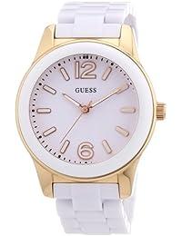 Guess Damen-Armbanduhr Analog Plastik W10601L1