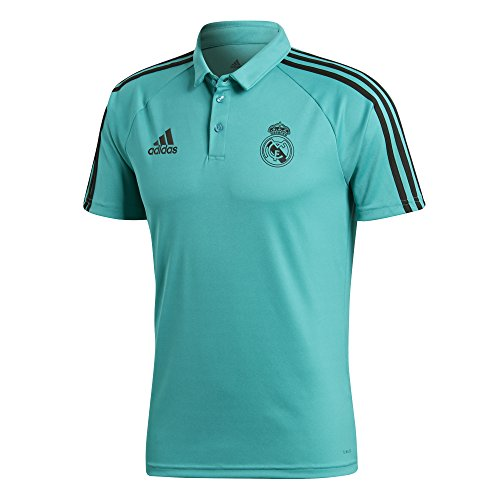 adidas BR8884 Polo Real Madrid, Hombre, Multicolor (Arraer), L