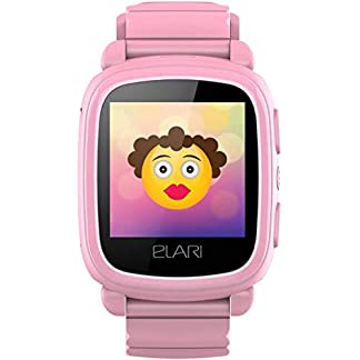 Elari KidPhone 2 Reloj Inteligente Rosa TFT 3,66 cm (1.44″) Móvil GPS (satélite) – Relojes Inteligentes (3,66 cm (1.44″), TFT, GPS (satélite), Móvil, Rosa)