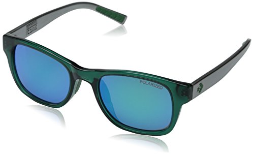 Converse Herren R005 Wayfarer Sonnenbrille, Emerald