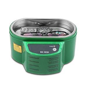Bvc Ultraschallreiniger Schmuckreiniger Waschmaschine mit Edelstahl – Metall Werkzeug Reinigungsgeräte, 800Ml