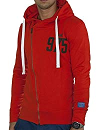 JACK & JONES - PLACEBO Herren Kapuzenpullover Highneck Sweat-Hood 1143