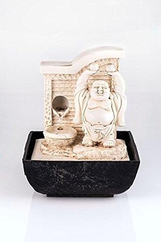 Buda–Fuente con LED, habitaciones,, humidificación de habitación de Buda, Feng Shui Chakra, Happy Buda, Ender Buda sonriente