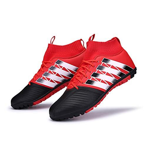 Länge Athletische Socken Schwarz (Yililay Paar im Freien Fußball-Schuhe Unisex Breath Flaches weich athletische Turnschuh-beiläufige Schnürsenkel Socken Turnschuhe)