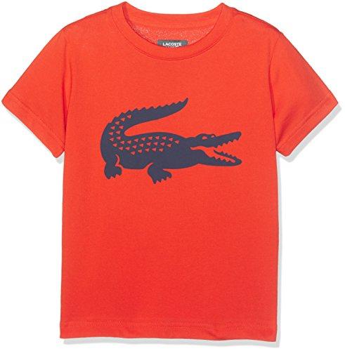 lacoste-sport-tj2910-t-shirt-sportiva-bambino-arancione-etna-marine-8-anni-taglia-produttore-8a