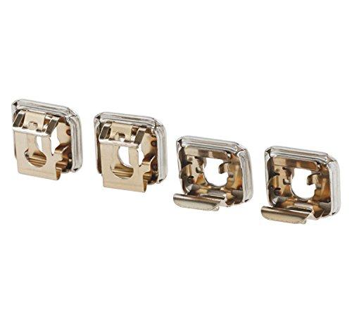Set de 4 casquillos universales para hornos con o sin pirolisis Bosch, Siemens, Balay, Neff y Gaggenau...