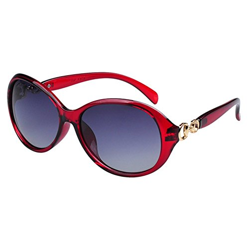 O-C women's Classical&Fashion stylish UV400 colorful wayfare polarised Sunglasses 58mm Width lens
