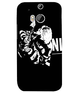 HTC ONE M8 MULTICOLOR PRINTED BACK COVER FROM GADGET LOOKS
