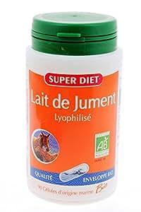 Super diet - Lait de jument bio - 90 gélules - Immunostimulant, fortifiant