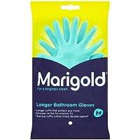 Marigold Longer Bathroom Gloves - Single Pair (Medium)