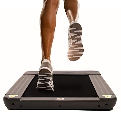 JEMPET Tapis de Course Marche sous Le Bureau à la Maison et au Bureau Slim Fitness, Portable Affichage LCD Télécommand